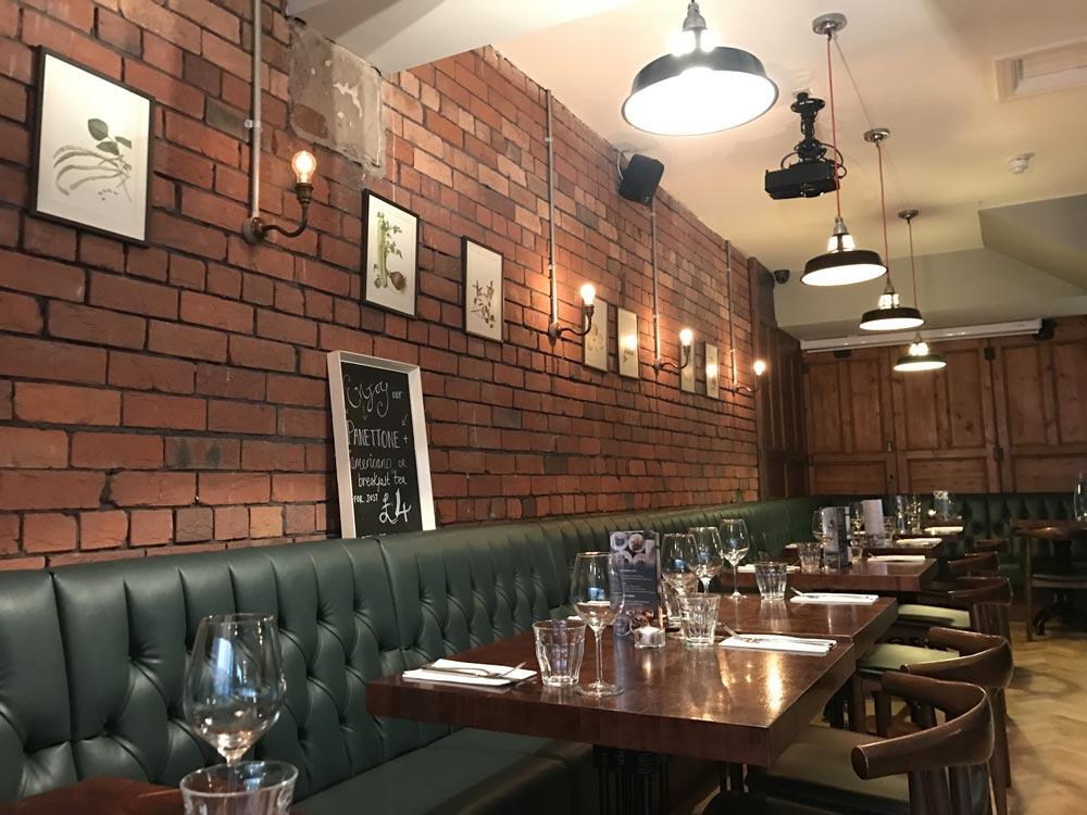 Porro Italian Restaurant Llandaff, Cardiff