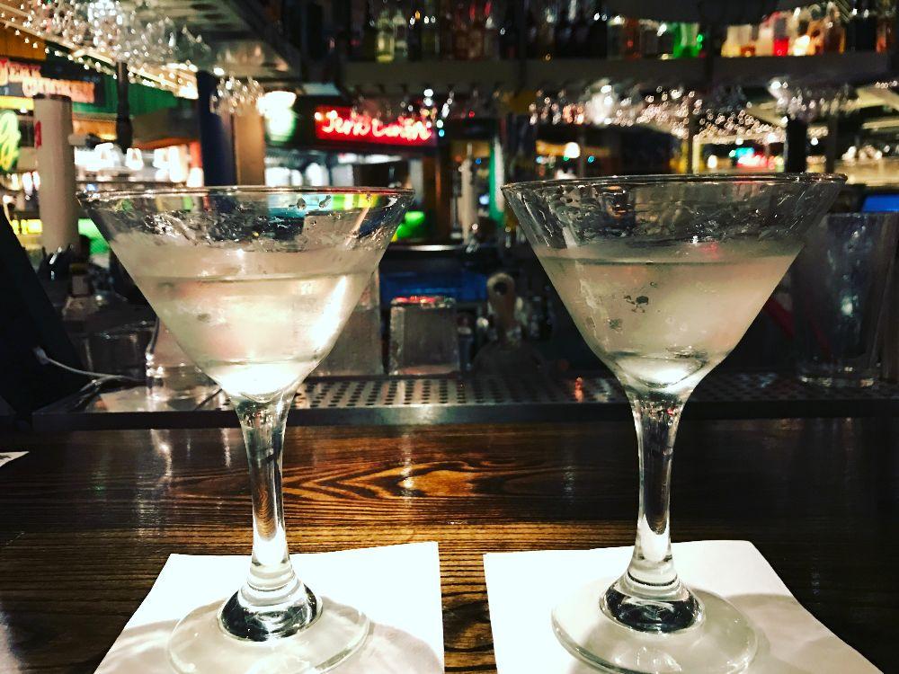Gin Martini at Turtle Bay Cardiff