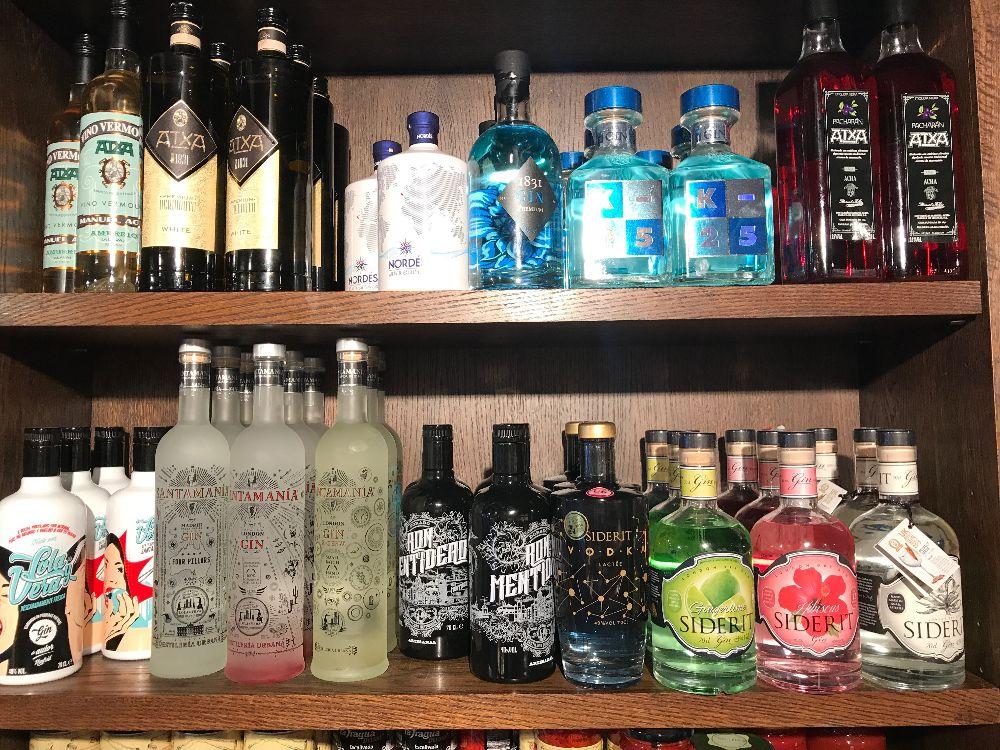 Spanish Gin at Curado Cardiff