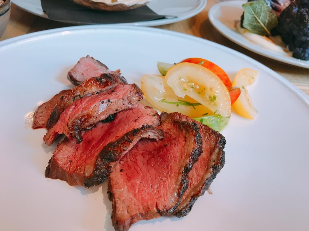 medium rare steak picanha lunch Asador 44 Cardiff