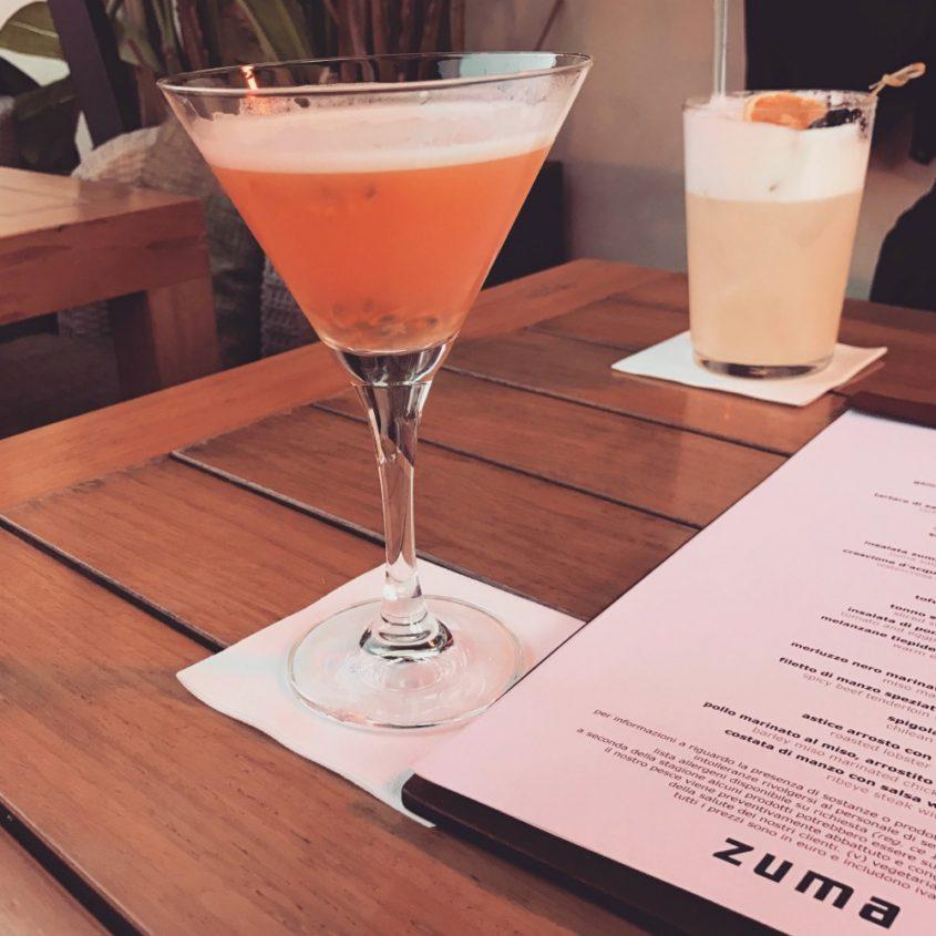 zuma rome martini and restaurant review