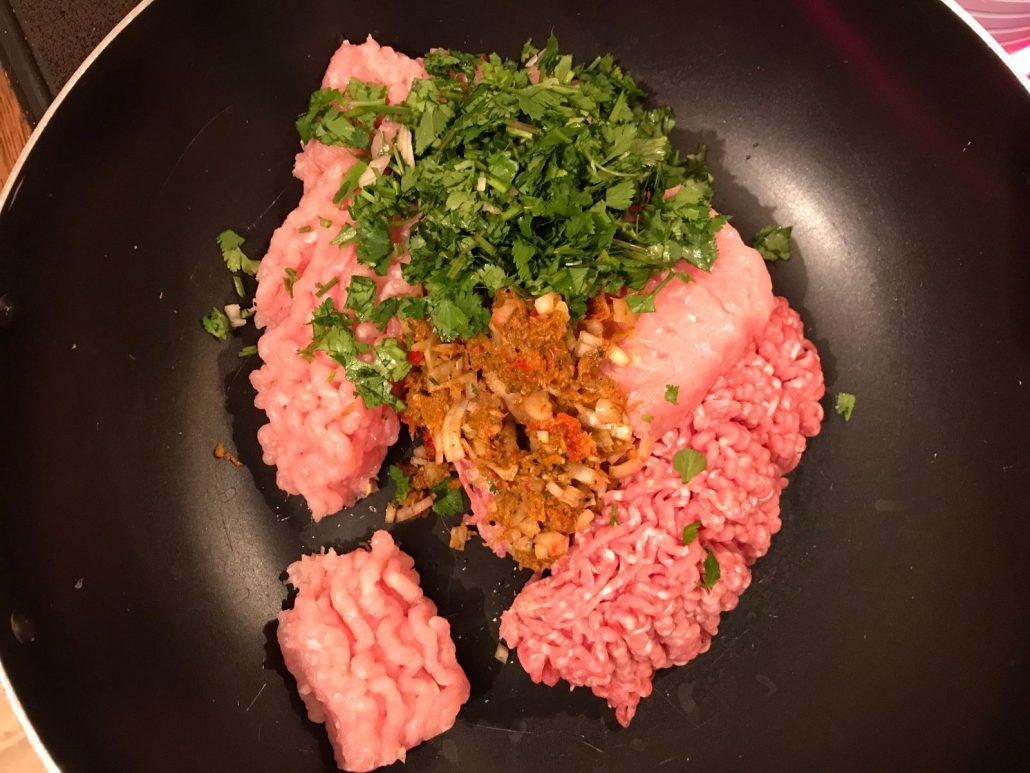 thai turkey meatball ingredients