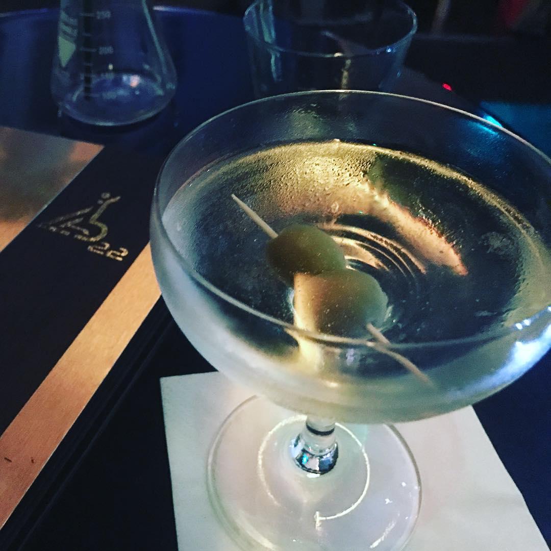 gin martinin at lab22 cardiff