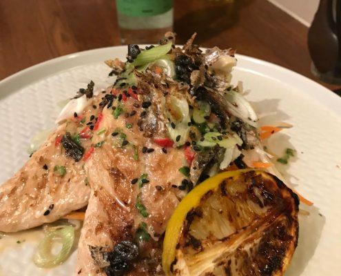 gin and miso mackerel recipe