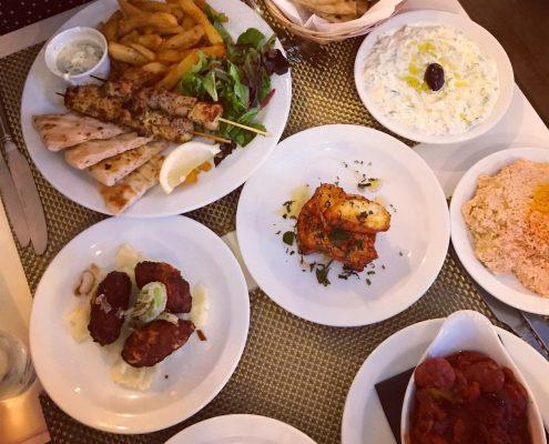 Marias Greek Taverna Cardiff Review