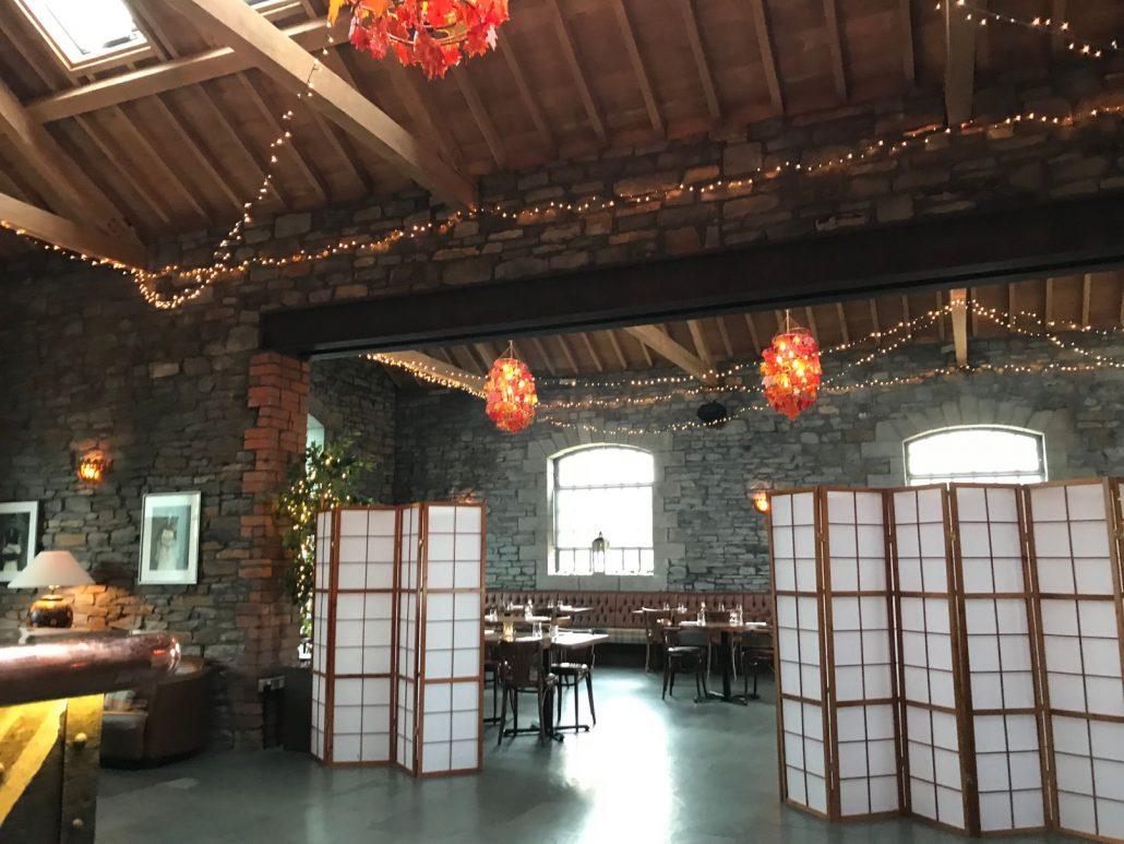Sosban Restaurant decor in Llenelli