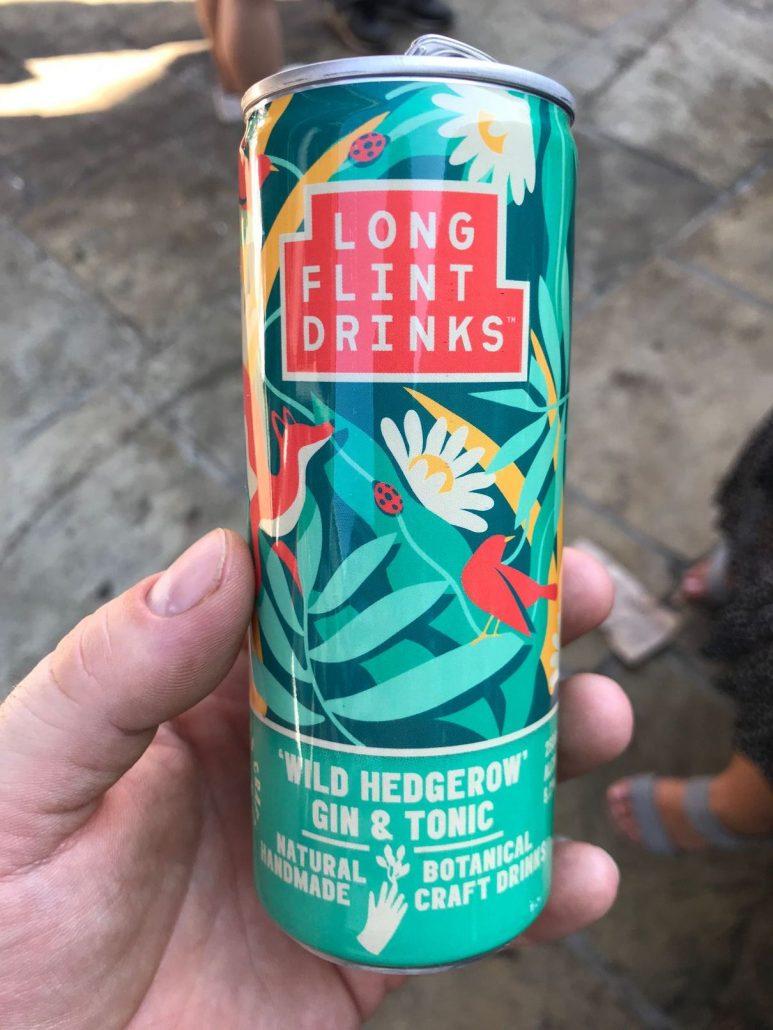 Longflint G & T at Meatopia London