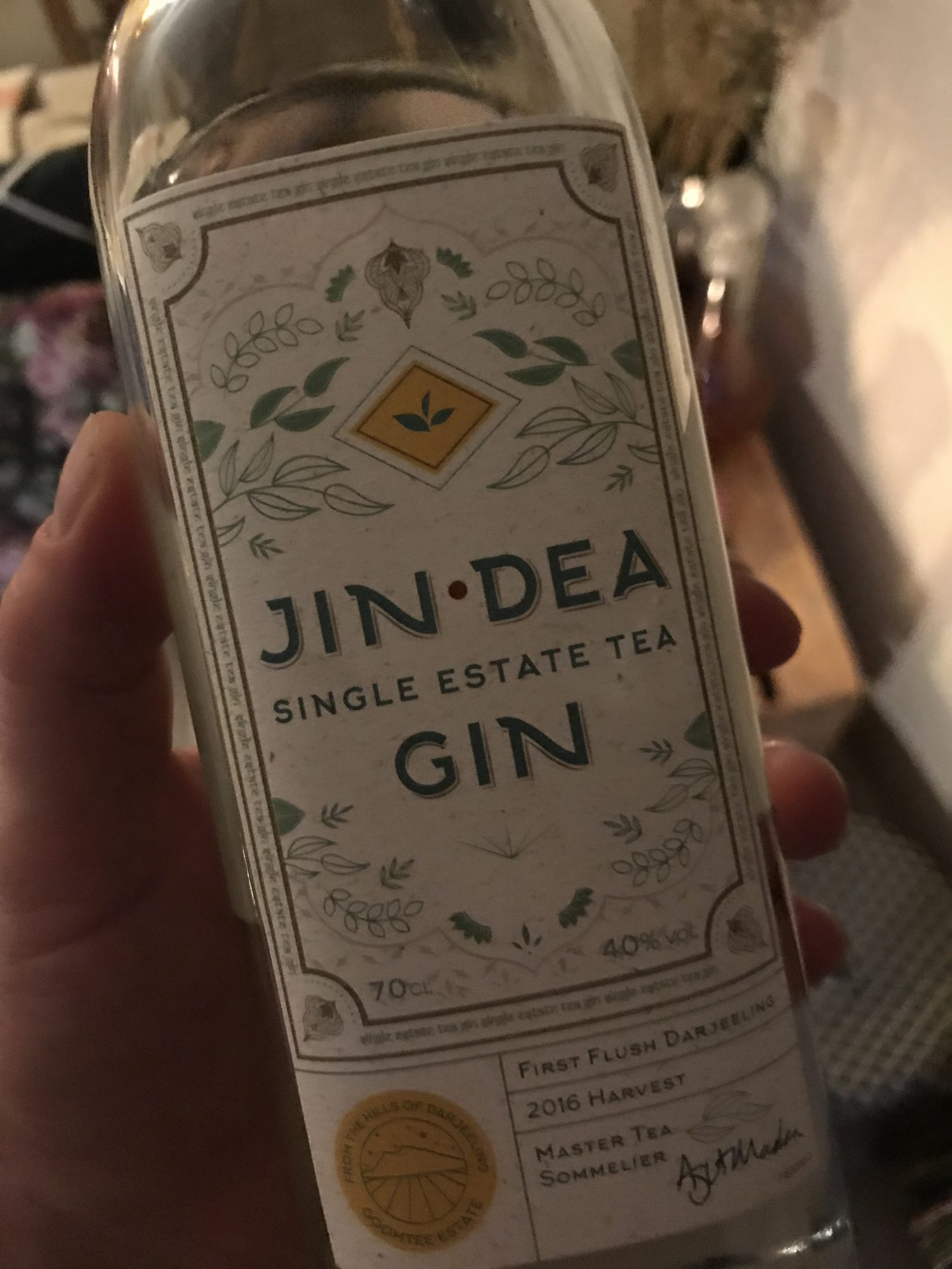 Jindea Darjeeling Tea Gin