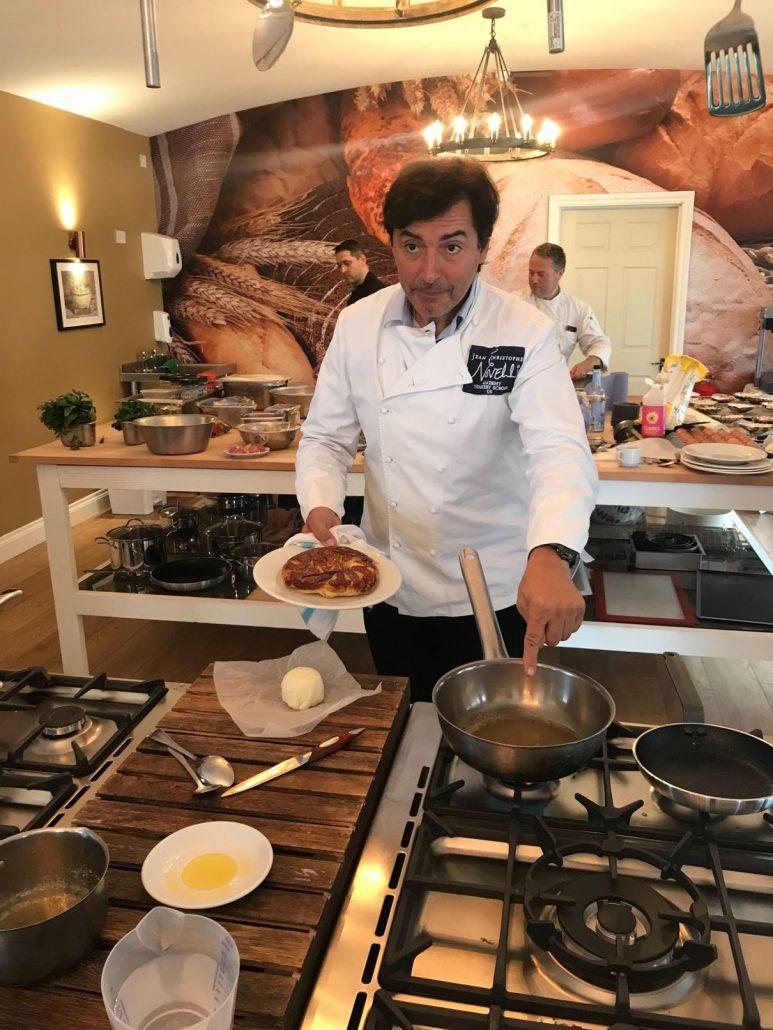 Jean Christophe Novelli caramel making at Corran Academy