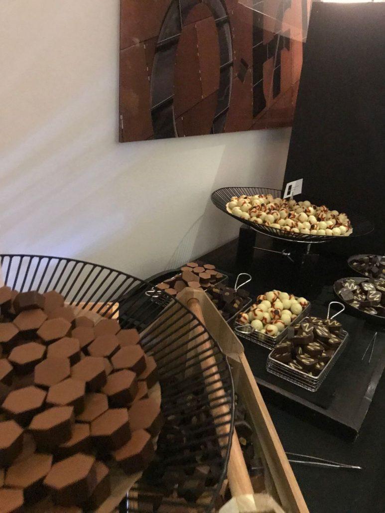 Hotel chocolat feast at the Bafta Cymru afterparty