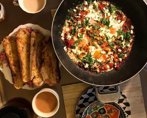 Shakshuka recipe - Turkish eggs