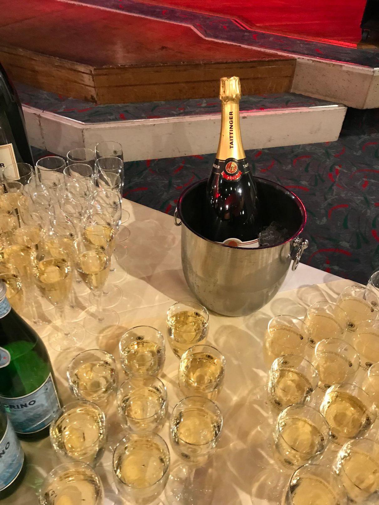 Taitinger Champagne reception at Bafta Cymru 2018