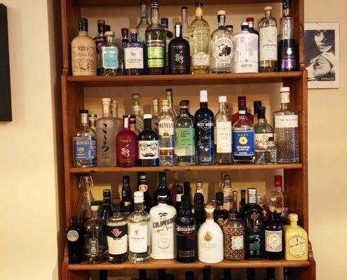 Home gin bar
