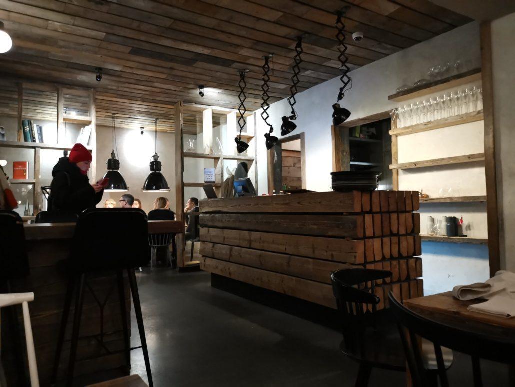 Inside host restaurant copenhagen