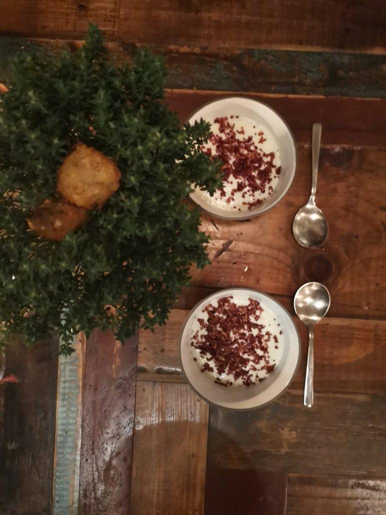 Artichoke soup at Host Copenhagen
