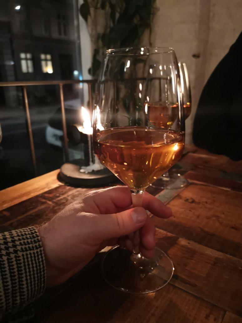 28 year old dessert wine at Host Copenhagen