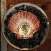 Scallop dish at Host Copenhagen
