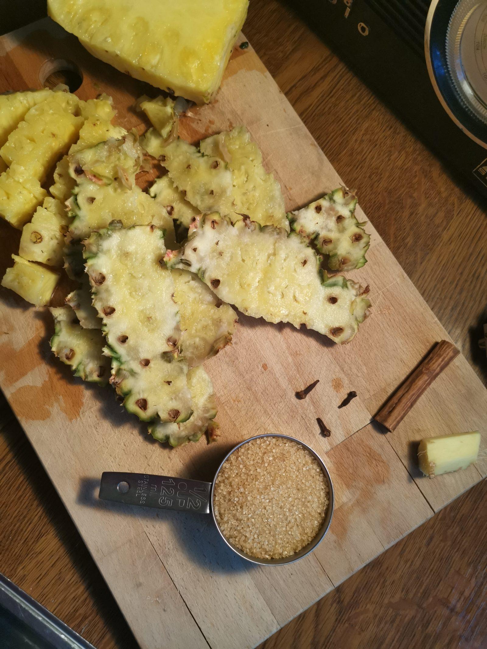 Tepache recipe ingredients
